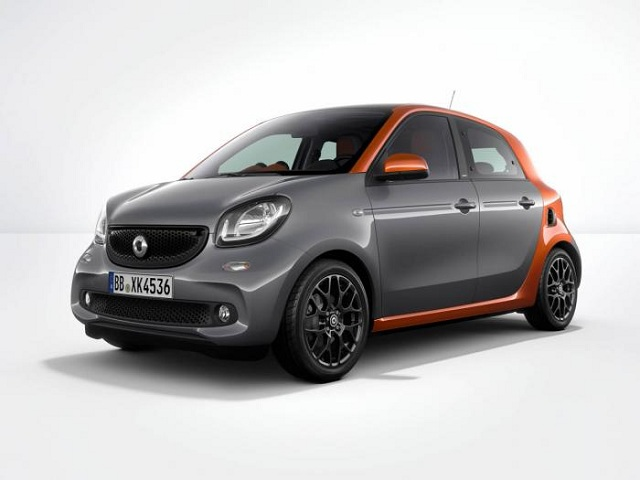 smart forfour cabrio electric drive to launch in 2016. Black Bedroom Furniture Sets. Home Design Ideas
