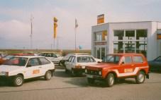 1993 Eröffnung der ersten Ausstellungshalle