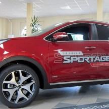 KIA Sportage Seitenansicht Autohaus Hoffmann Halle
