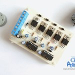Control PWM de motores con MOSFETs
