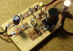 circuitos electronicos en madera