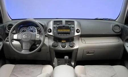 2009 Toyota RAV4 interior