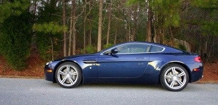 2009 Aston Martin V8 Vantage side