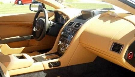 2009 Aston Martin V8 Vantage interior