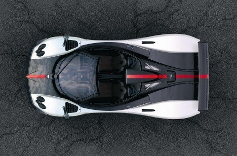 Pagani Zonda Cinque Roadster top