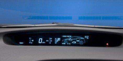 2010 Toyota Prius dash