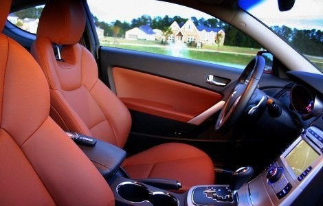 Hyundai Genesis Coupe interior