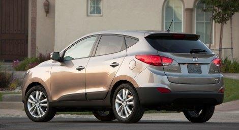 2010 Hyundai Tucson rear