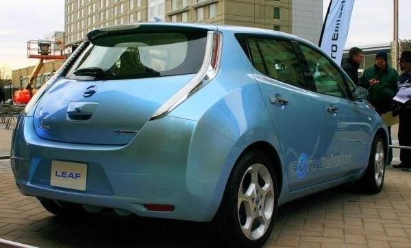 2011 Nissan Leaf rear