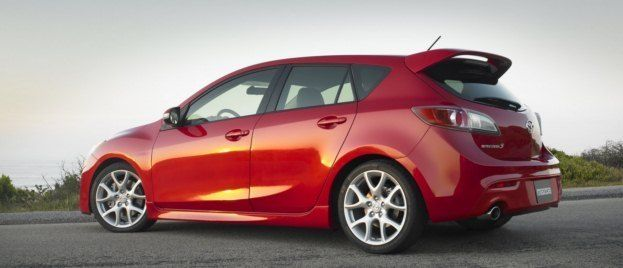 2010 MazdaSpeed3 rear
