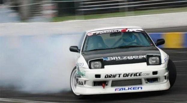 Nissan 240SX Drifting
