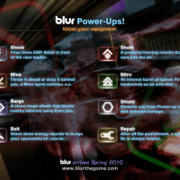 Blur_Power-up Intro Screen