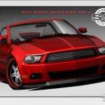 MustangStreetScene