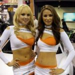 SEMA Booth Girls