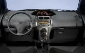 2011 Toyota Yaris interior