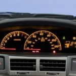 2011 Toyota Yaris gauges