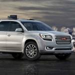 2013 GMC Acadia Ups the Design, Safety Ante