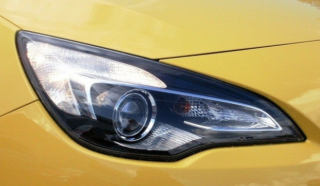 Opel GTC Astra headlight