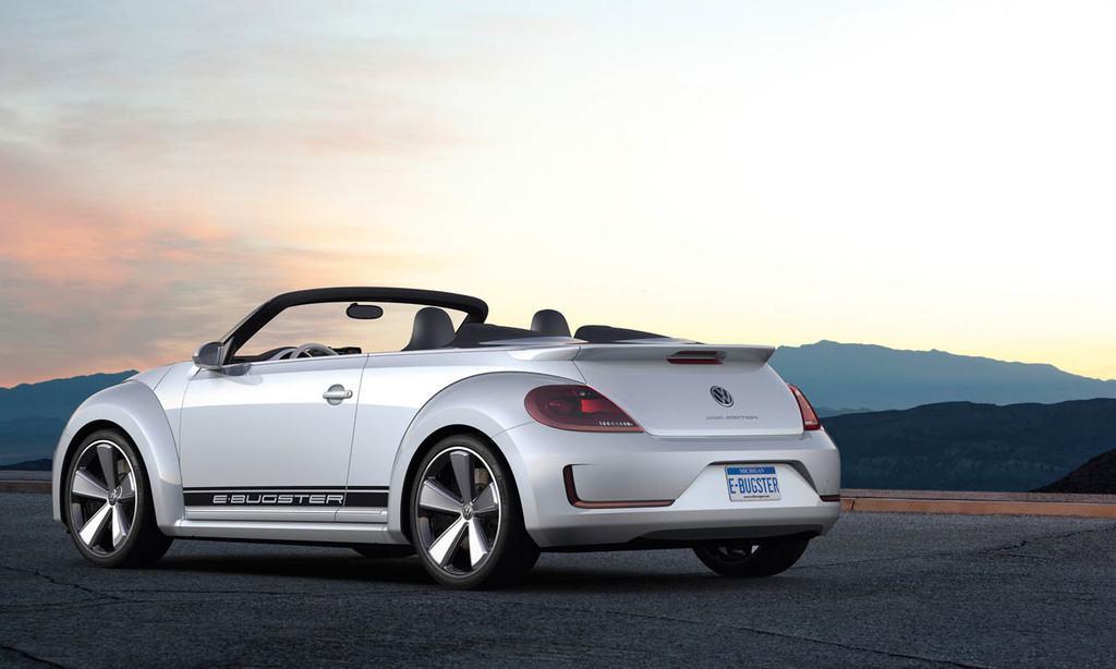 Volkswagen Studie E-Bugster