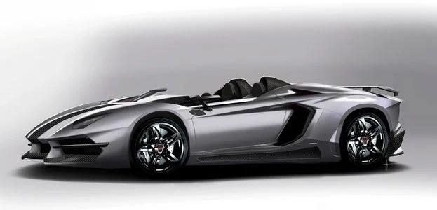 Prindiville Lamborghini Aventador J Concept