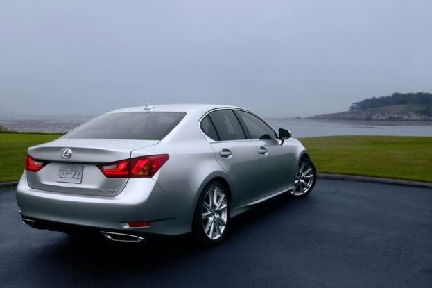 2013 Lexus GS350 rear