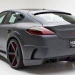 Misha Designs Porsche Panamera rear