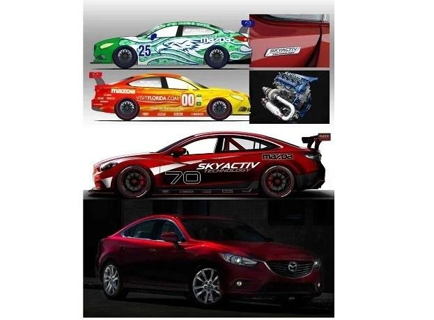mazda6 SkyActivD race car 2013