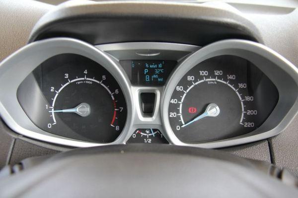 2013 Ford EcoSport gauge cluster