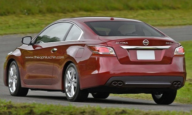 2014 Nissan Altima Coupe rear