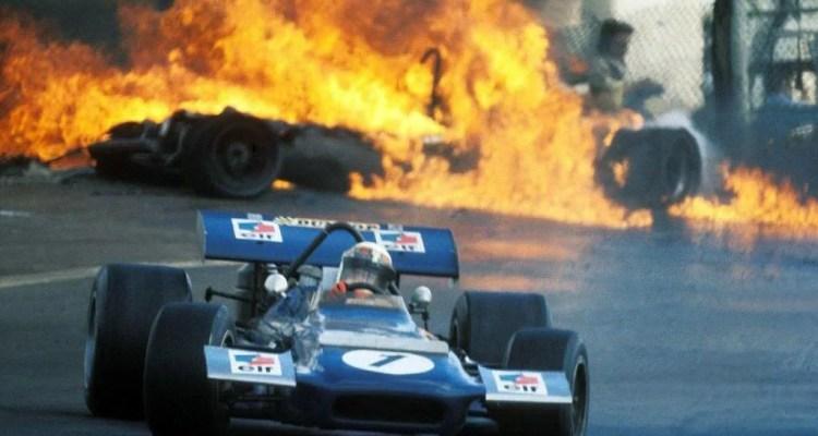Jackie Stewart 1970 Spanish GP