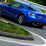 Subaru BRZ tS cornering