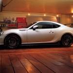 Subaru BRZ tS garage