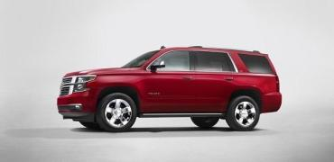 2015 Chevrolet Tahoe sideview