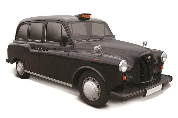 hammacher schlemmer london taxi cab