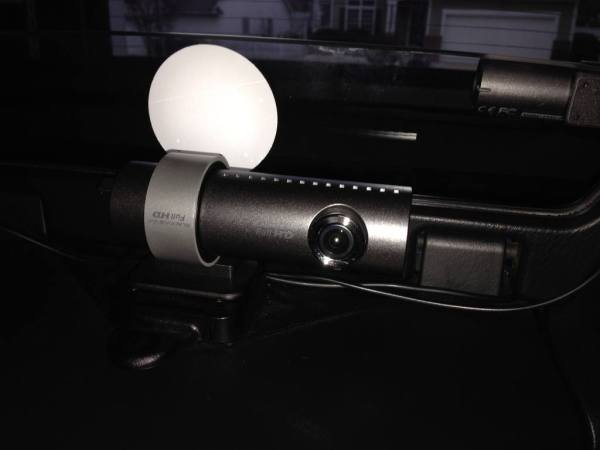 BlackVue DR550GW-2CH mounted