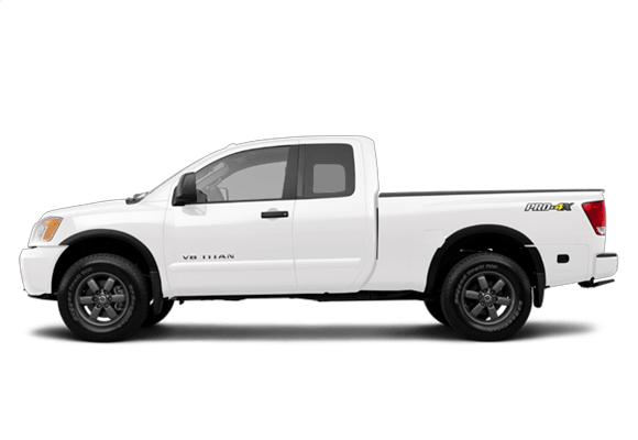 2014 Nissan Titan side