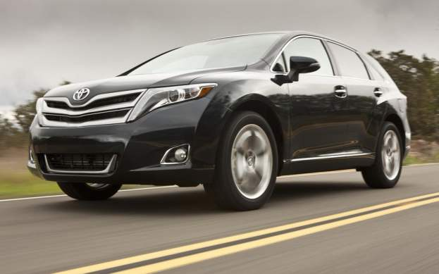 2014 Toyota Venza on the road