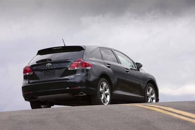 2014 Toyota Venza rear view