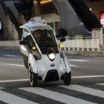 Toyota i-ROAD Leans Towards Radical Future in Transportation