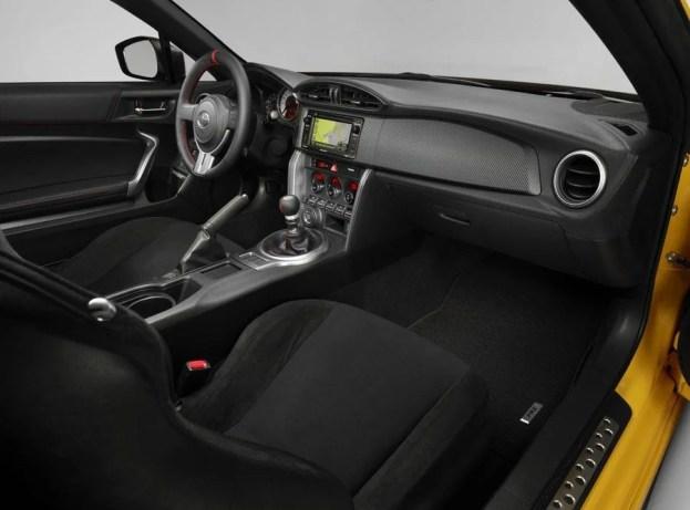 Scion FR-S RS 1 interior