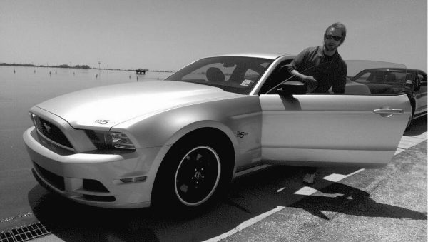 Silver Mustang Carl Anthony