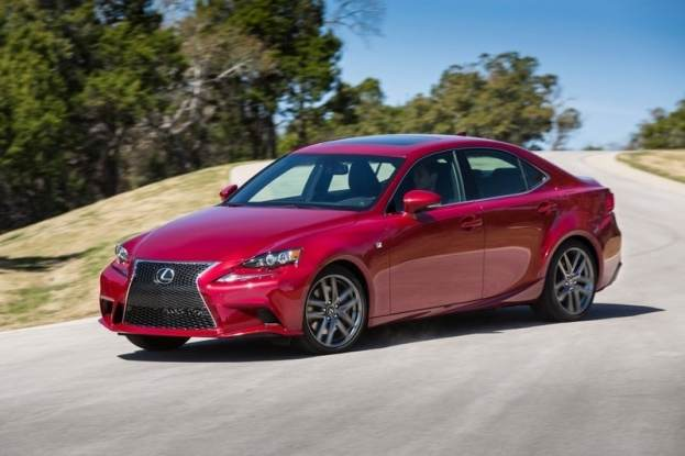 2014 Lexus IS350 F-Sport driving
