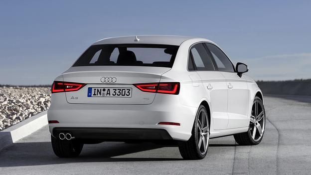 2015 Audi A3 rear
