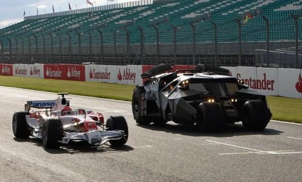Toyota F1 Car with Batman Tumbler