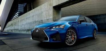 2016 Lexus GS-F Left Front