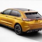 2016 Ford Edge Sport Left Rear Three Quarters