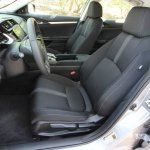 2016 Honda Civic Front Seats