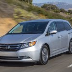 2016 Honda Odyssey drive