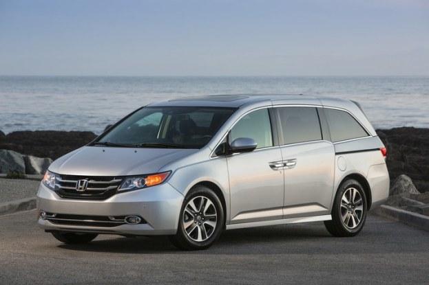 2016 Honda Odyssey front