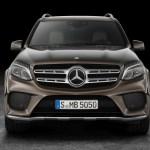 2017 Mercedes-Benz GLS 550 4MATIC Front Fascia